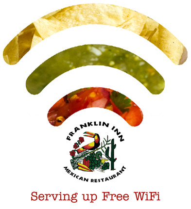 Free Wifi at the Franklin Inn